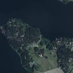 Skogsbovägen Svartsjö Ekerö - flygfoto på Eniro