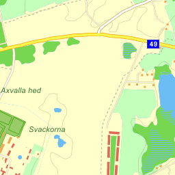 axevalla karta Axvall Axevalla Travbana Stallbacken   karta på Eniro axevalla karta