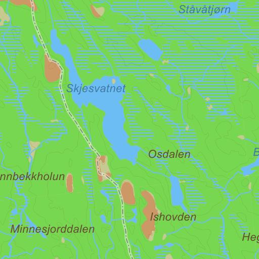 frøystul kart Frøystul på Gule Siders kart