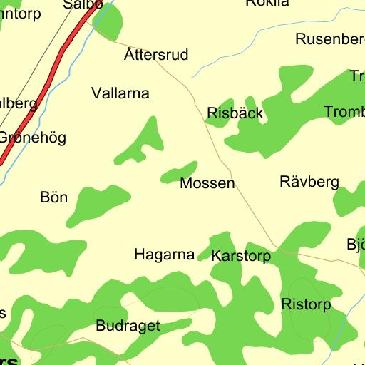 Karta Vanersborg.Vanersborg Bon Karta Pa Eniro