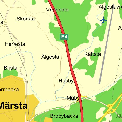 Karta Over Arlanda Flygplats.Stockholm Arlanda Karta Pa Eniro