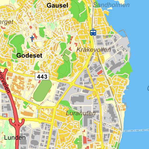 kart forus Stavanger Forusbeen på Gule Siders kart
