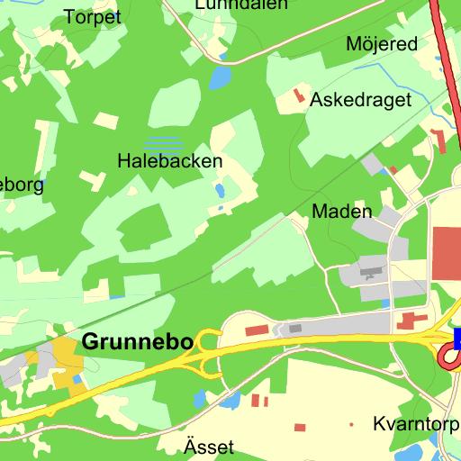 Karta Vanersborg.Vanersborg Grunnebo Karta Pa Eniro