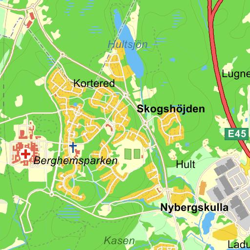 Karta Vanersborg.Vanersborg Baberg Karta Pa Eniro