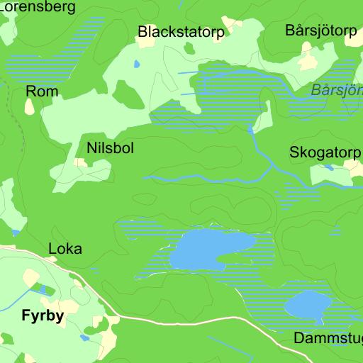 Karta Sodra Sverige Eniro.Flen Karta