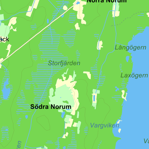 Karta Sodra Sverige Eniro.Bygdea Sodra Norum Karta Pa Eniro