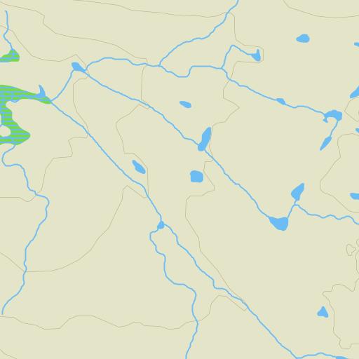 blåfjella-skjækerfjella nasjonalpark kart Blåfjella Skjækerfjella Nasjonalpark på Gule Siders kart