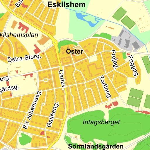 Karta Eskilstuna