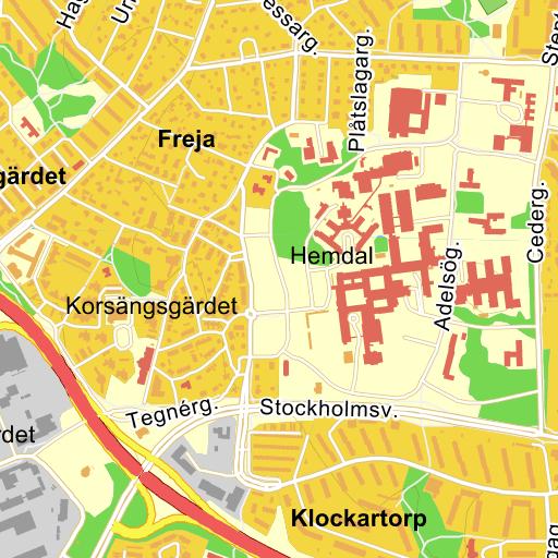 Västerås sjukhus karta