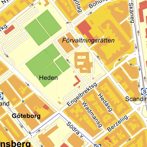 Heden Goteborg Karta.Drottningtorget Goteborg Karta Pa Eniro