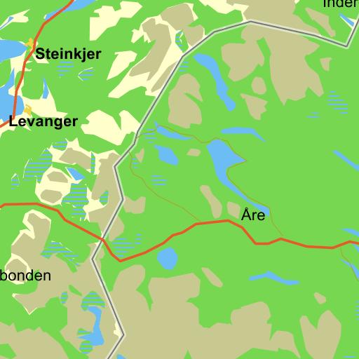 Kraks kort jylland