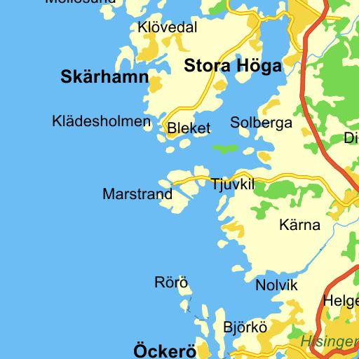 Karta Sodra Sverige Eniro.Smogen Karta Pa Eniro