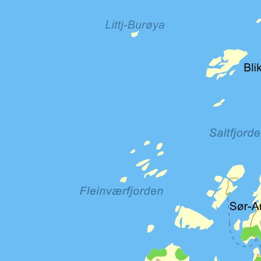 fleinvær kart Fleinvær Kart   Kart
